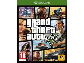 Xbox One Grand Theft Auto V / GTA 5 Nová