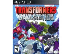 PS3 Transformers Devastation