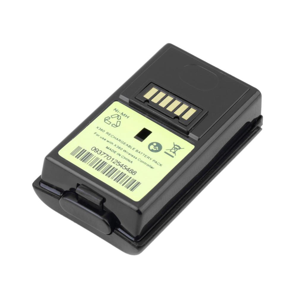 Nabíjecí baterie akumulátor Xbox 360 - 4800 mAh Barva: černý