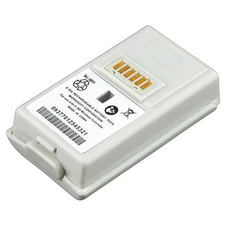 Nabíjecí baterie akumulátor Xbox 360 - 4800 mAh Barva: bílý