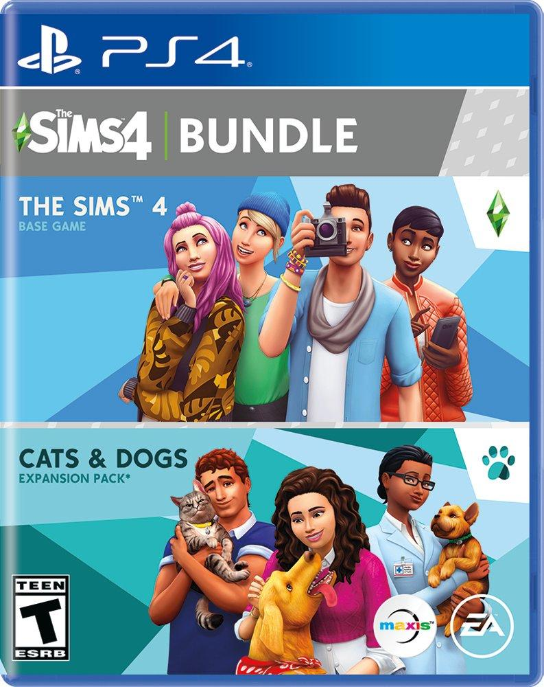 The Sims 4 + Cats & Dogs (PS4)