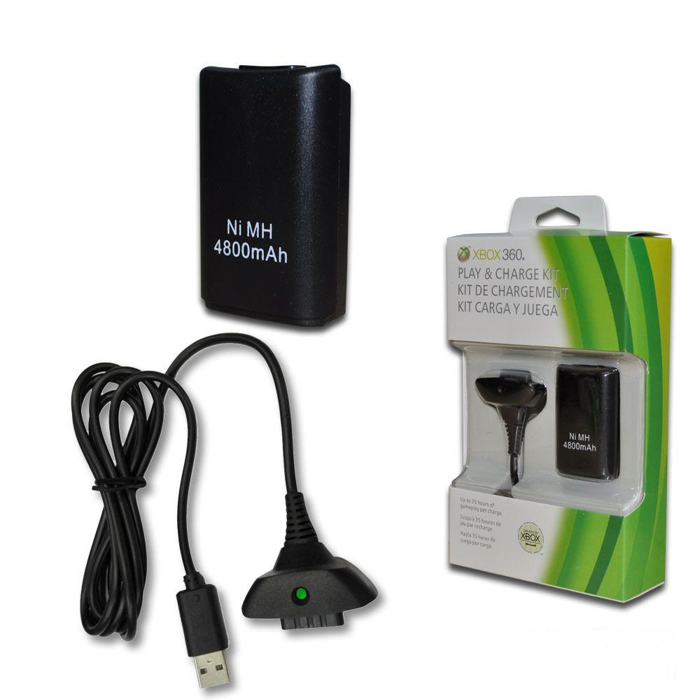 Nabíjecí baterie akumulátor Xbox 360 + napájecí kabel