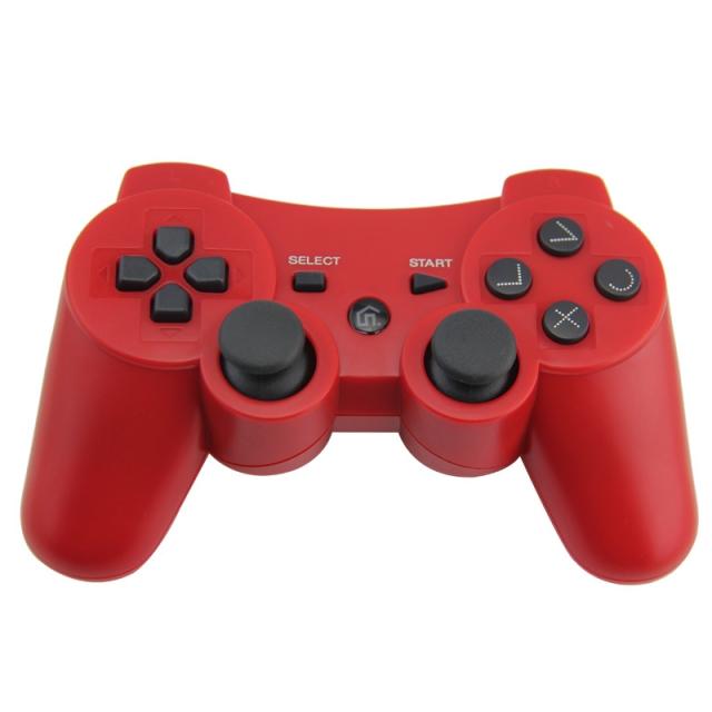 PS3 Bezdrátový ovladač Barva: červený