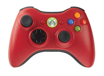 Microsoft Xbox 360 Wireless Controller Red