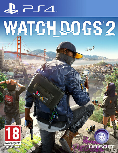Watch Dogs 2 CZ (PS4)
