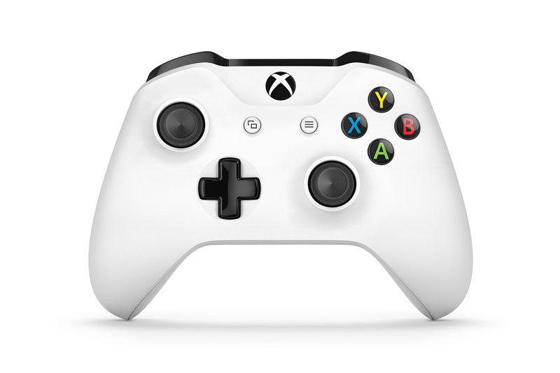 Microsoft Xbox One S Wireless Controller White (Xbox one)