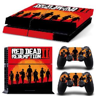 PS4 Polep Skin Red Dead Redemption 2