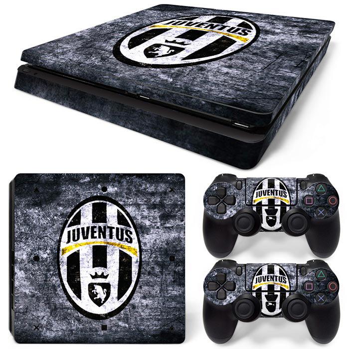 PS4 Slim Polep Skin Juventus FC