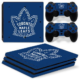 PS4 Pro Polep Skin NHL - Toronto Maple Leafs