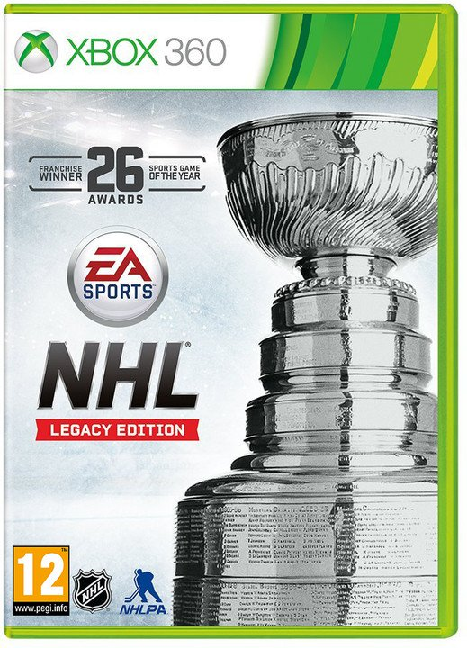 NHL 16 - Legacy Edition CZ (Xbox 360)