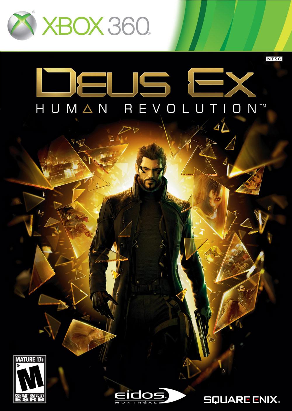 X360 Deus Ex: Human Revolution Limited Edition