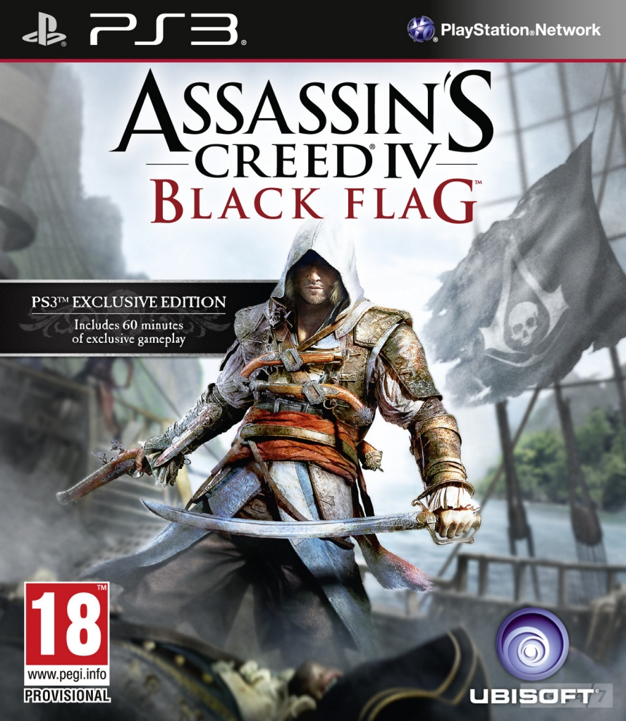 PS3 Assassin's Creed 4: Black Flag Exclusive Edition