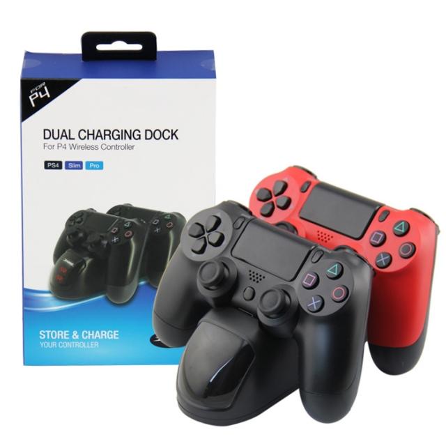 Dobe PS4 duální nabíjecí dokovací stanice