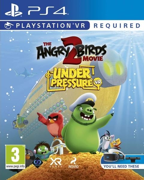 The Angry Birds Movie 2: Under Pressure VR (PS4)