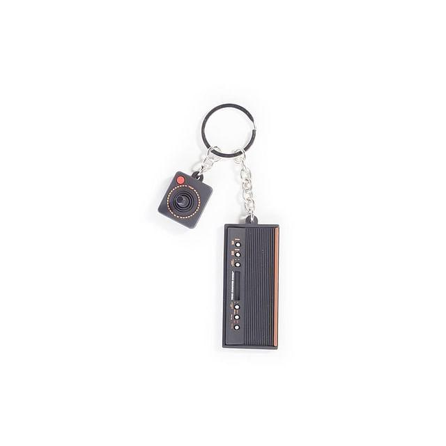 Klíčenka Atari - 3D Console & Joystick