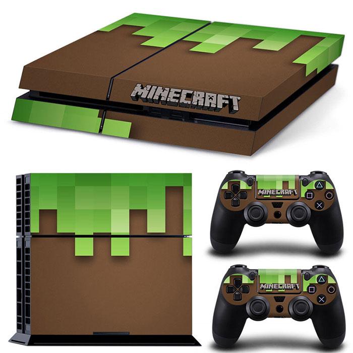 PS4 Polep Skin Minecraft