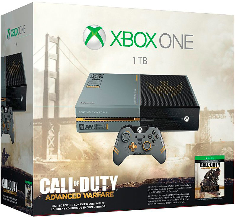 Microsoft Xbox One 1TB Call of Duty Advanced Warfare | Limited Edition