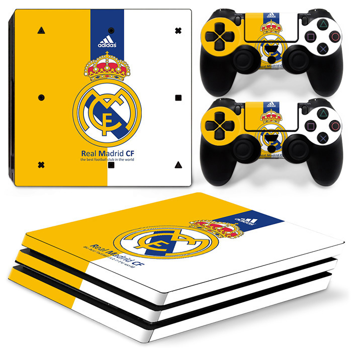 PS4 Pro Polep Skin Real Madrid FC