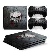 PS4 Pro Polep Skin Punisher