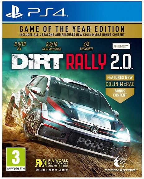 DiRT Rally 2.0 GOTY (PS4)