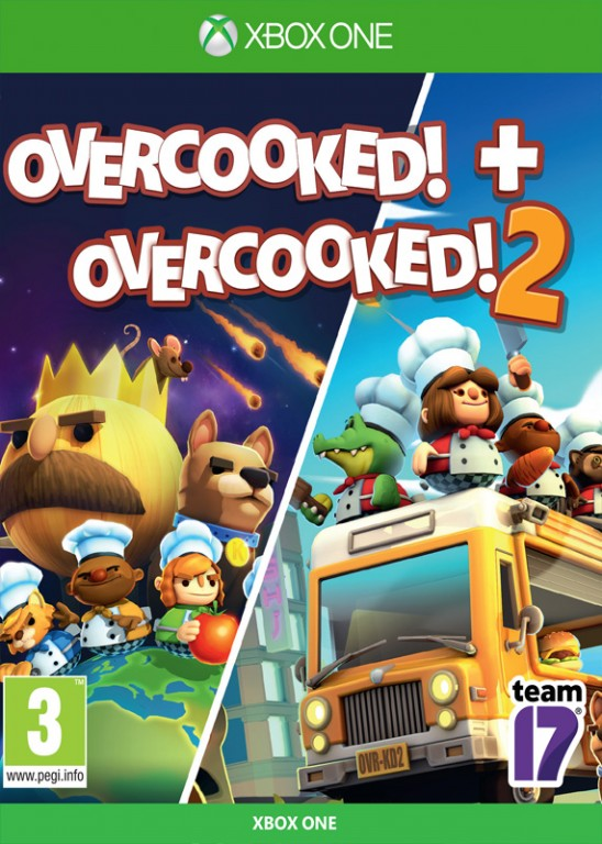 Overcooked! + Overcooked! 2 Double Pack (Xbox One)