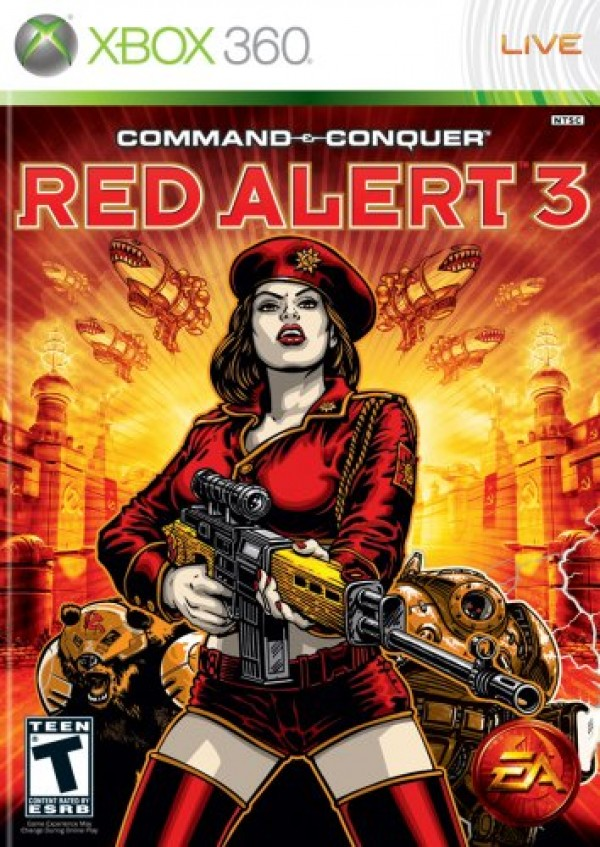 Command & Conquer: Red Alert 3 (Xbox 360)
