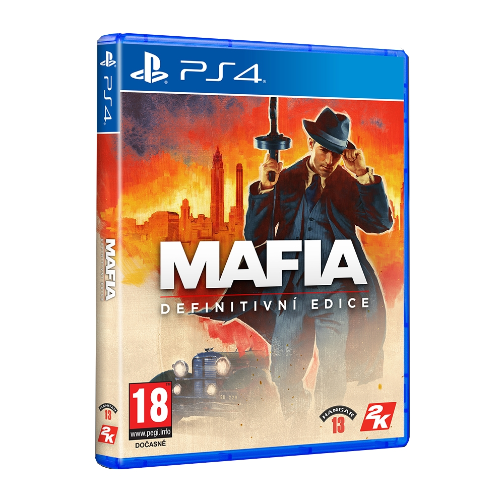 Mafia - Definitive Edition CZ (PS4)