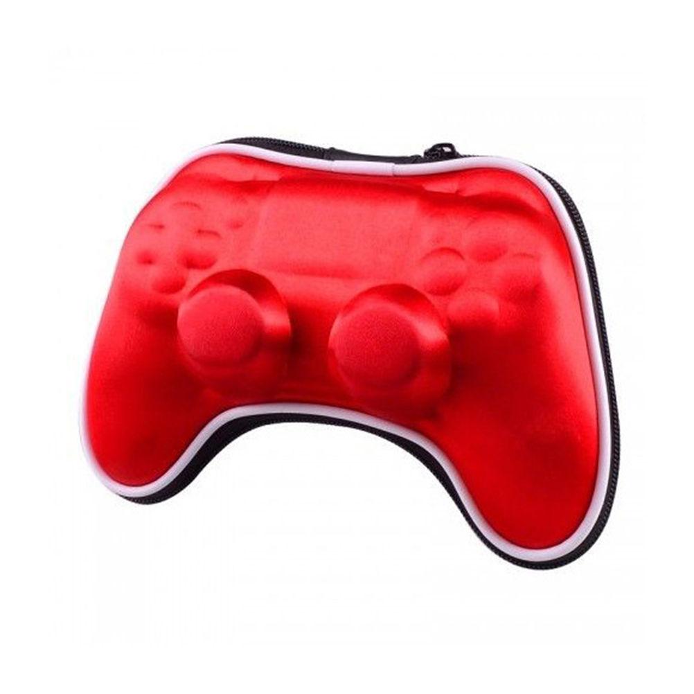 Ochranné cestovní pouzdro na ovladač PS4 Dualshock Barva: červený