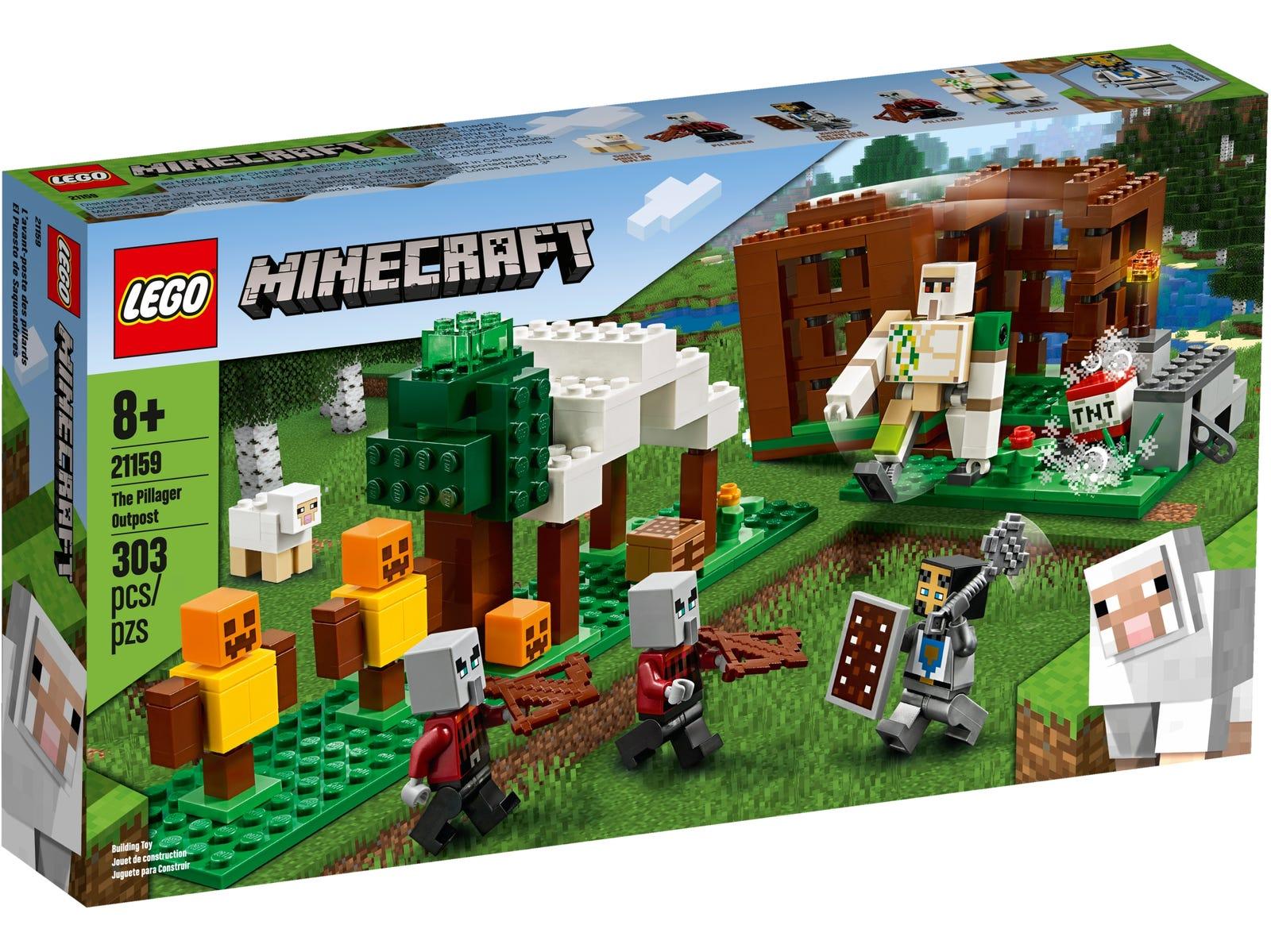 Stavebnice LEGO Minecraft 21159 (LEGO)
