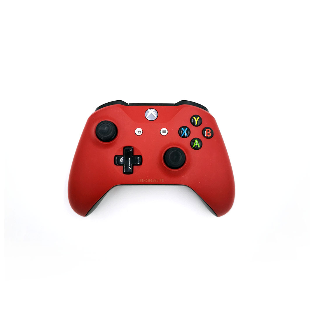 Microsoft Xbox One S Wireless Controller Red1