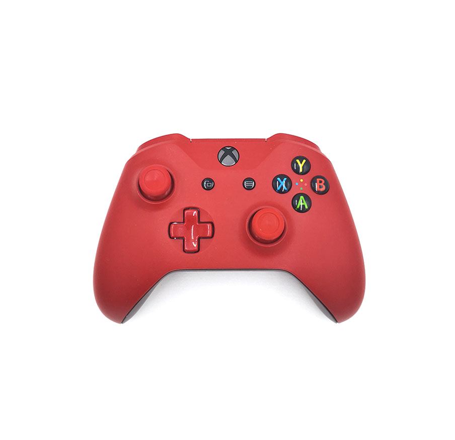 Microsoft Xbox One S Wireless Controller Red2