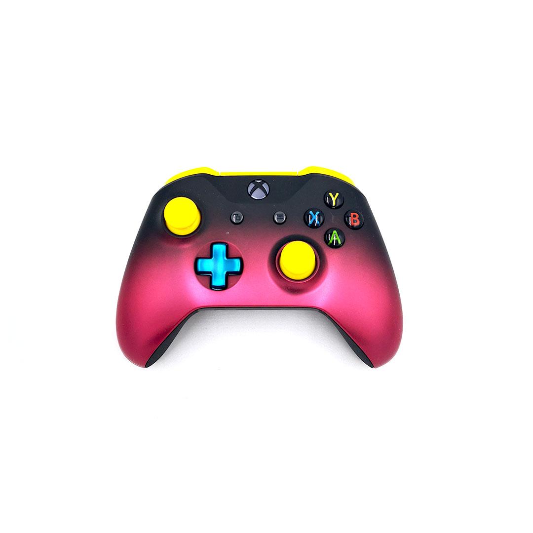 Microsoft Xbox One S Wireless Controller Deep Pink Shadow1