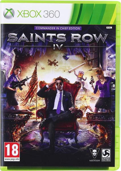 Saints Row 4 Commander in Chief Edition (Xbox 360)