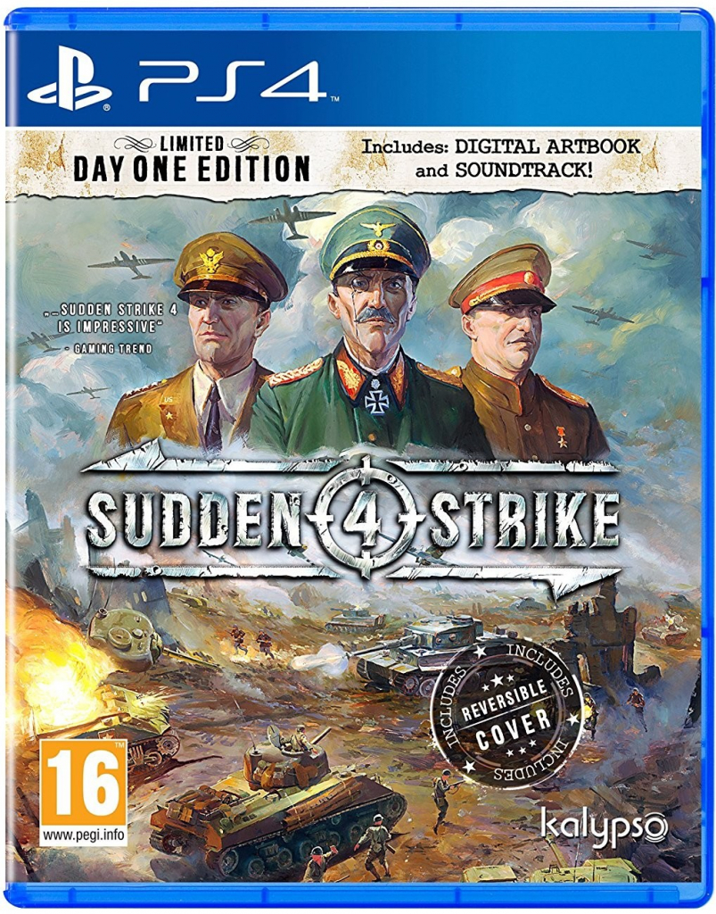 Sudden Strike 4 - Day One Edition (PS4)