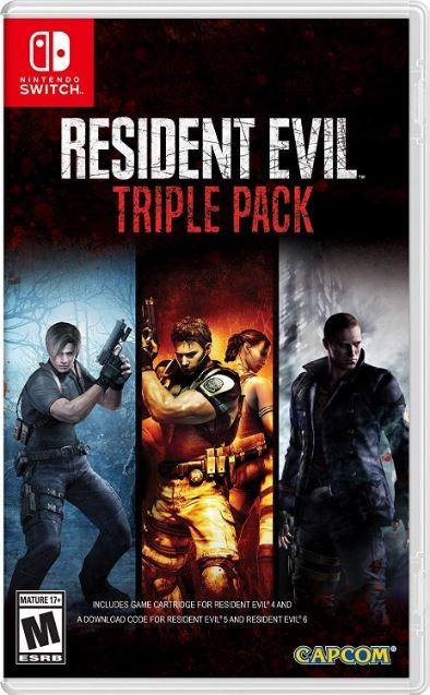 Resident Evil Triple Pack (Nintendo Switch)