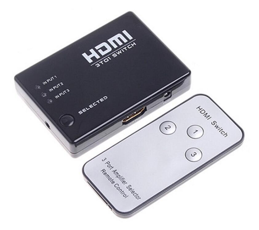 HDMI Switch 3-1 s ovladačem