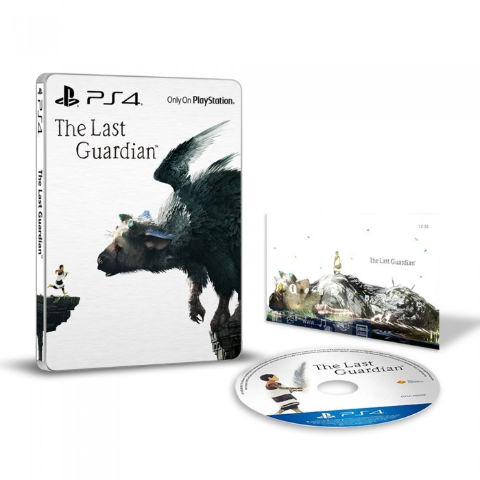 The Last Guardian SteelBook Edition (PS4)