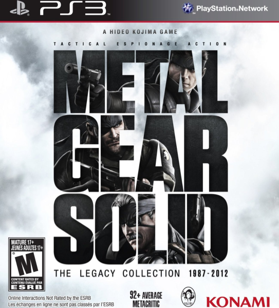 Metal Gear Solid: The Legacy Collection 1987 - 2012 (PS3)
