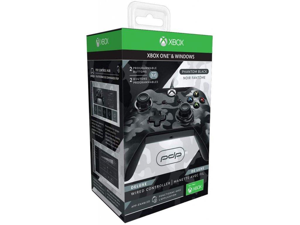 Xbox One drátový ovladač PDP Black Camo