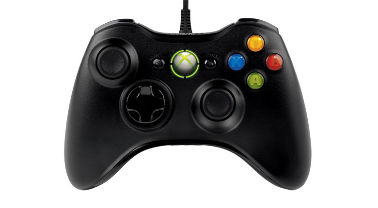 Microsoft Wired Controller Black (Xbox 360)