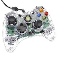 Microsoft Wired Controller Crystal (Xbox 360)