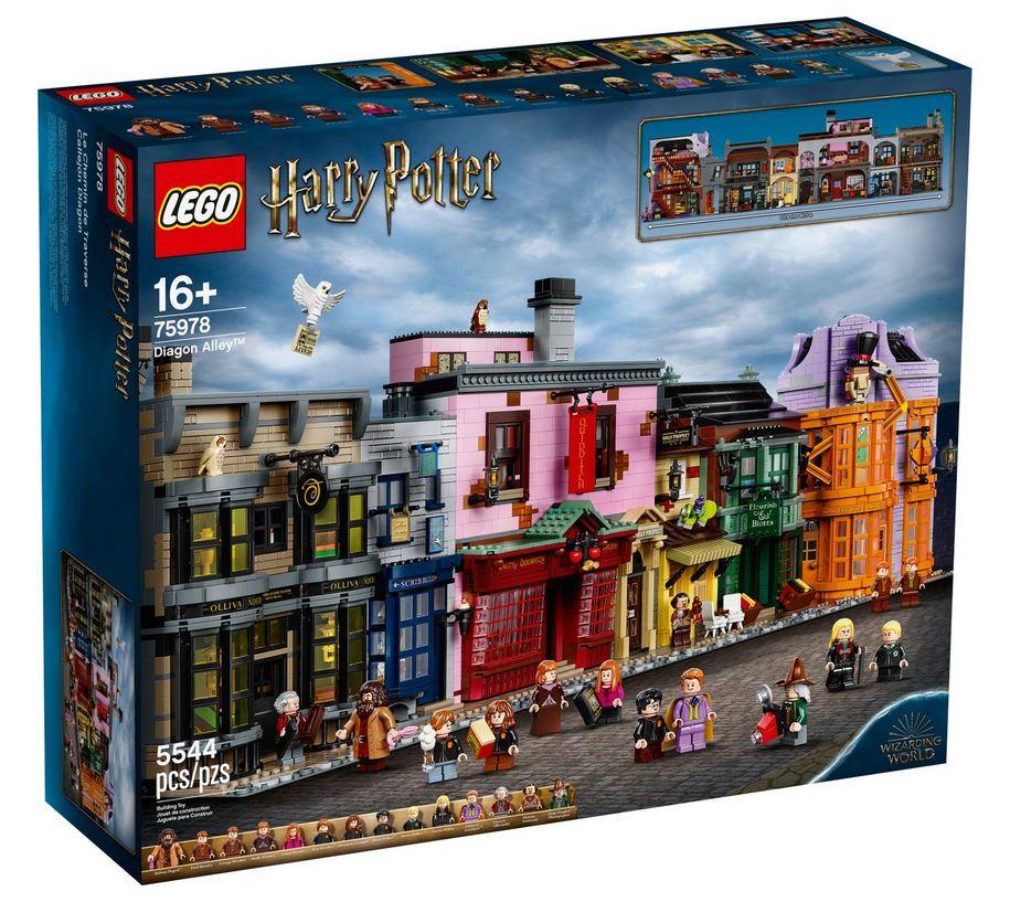 Lego Harry Potter 75978 Příčná ulice