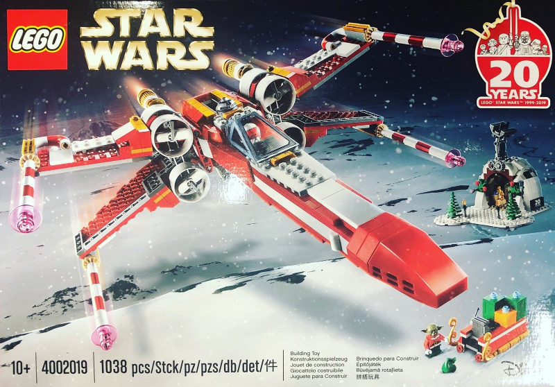 LEGO Limited Edition 4002019 Star Wars: X-Wing Fighter