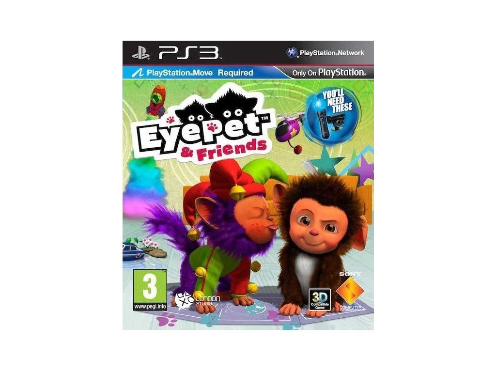 PS3 EyePet & Friends (PS3)