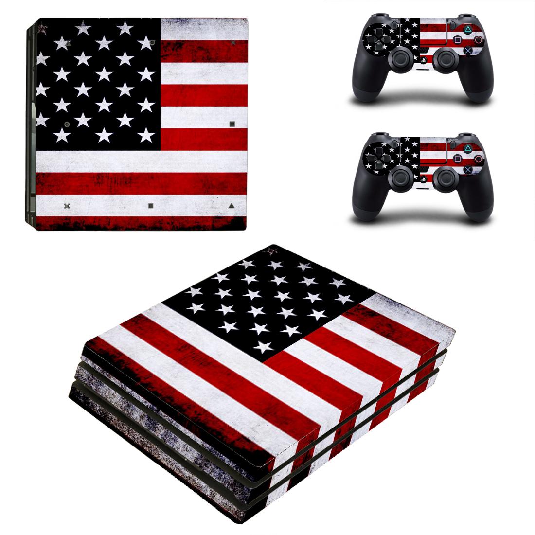 PS4 Pro Polep Skin USA