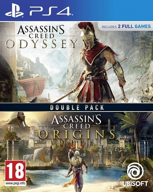 Assassins Creed: Odyssey + Origins Double Pack CZ (PS4)