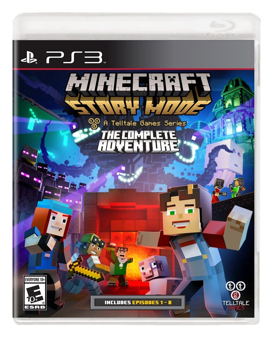 Minecraft: Story Mode The Complete Adventure (PS3)