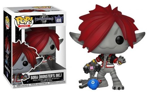 Funko POP Disney Kingdom Hearts 3 - Sora Monster's Inc.