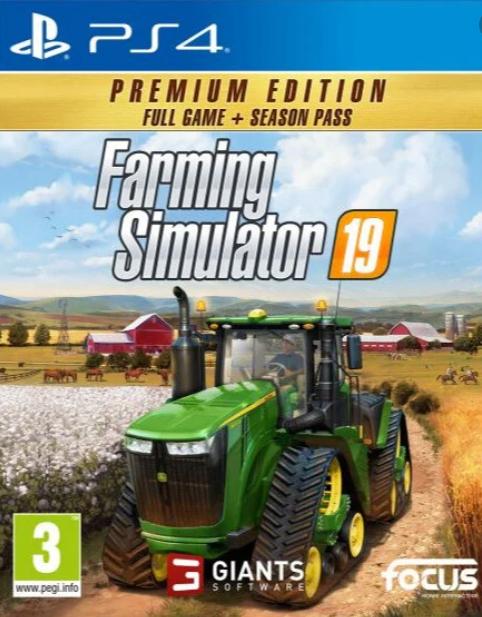 Farming Simulator 19 Premium Edition CZ (PS4)
