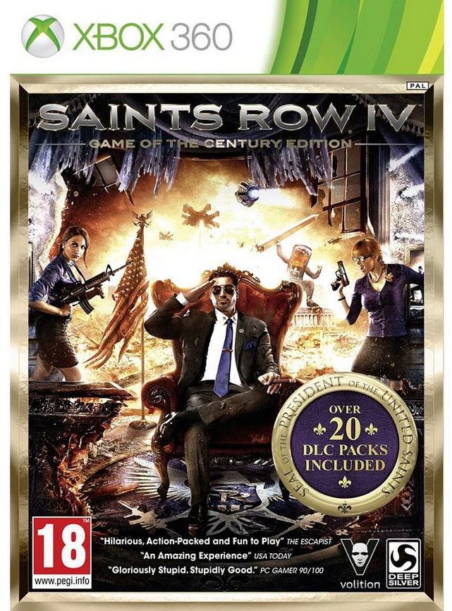Saints Row 4 (Game Of The Century Edition) (Xbox 360)
